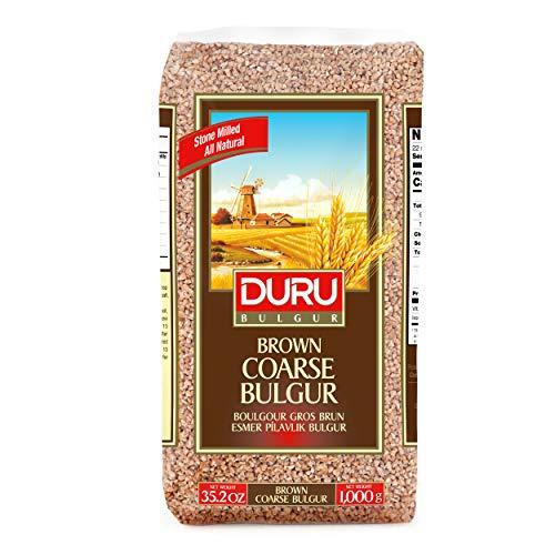 Duru Brown - Bulgur - Trigo Bulgur Grueso - Ingrediente Muy Popular en la Cocina de Oriente Medio - 1 Kg