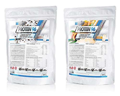 Frey Nutrition Protein 96 2 x 500g Beutel 2er Pack Neutral