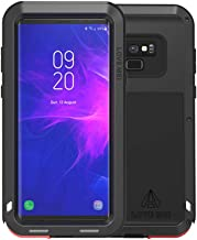 Galaxy Note 9 Case, Love mei Powerful Heavy Duty Hybrid Aluminum Metal Armor Shockproof Snowproof Dirtproof Cover Shell for Samsung Galaxy Note9 6.4inch (Black)