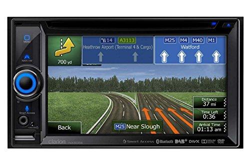 Clarion NX505E Navigationssystem (6.2 Zoll Display,starrer Monitor, 16:9,Keine Detailkarte enthalten)