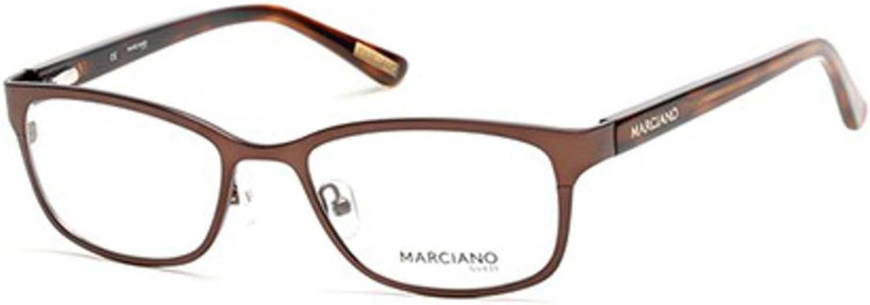 GUESS BY MARCIANO Eyeglasses GM0272 049 Matte Dark Brown 51MM