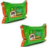 Xpel - Toallitas repelentes de mosquitos y insectos (25 unidades, 2 unidades, total de 50 toallitas)