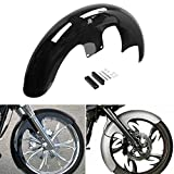 H-Ruo Motorcycle 21'' Wheel Wrap Front Fender for Harley Bagger Touring Electra Glide Street Glide Road King 2014-2020