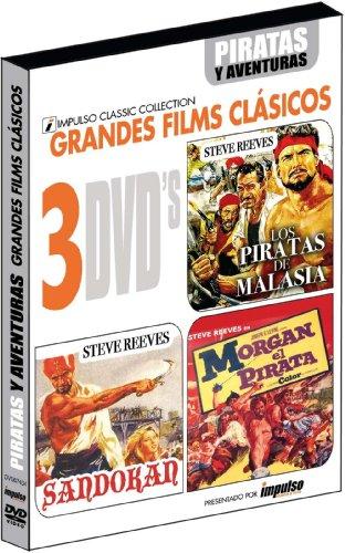 Grandes films clásicos: Piratas y aventuras [DVD]