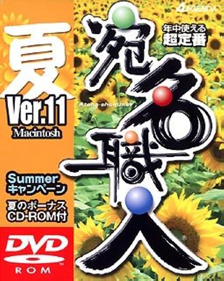 薬局繰り返し促す宛名職人 Ver.11 Summerキャンペーン版 DVD-ROM Macintosh