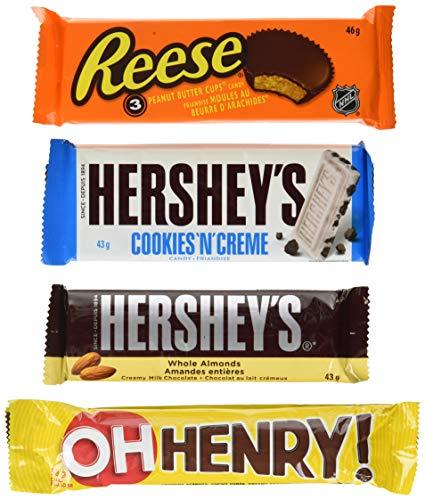 HERSHEY's Chocolate Candy Bar Assortment, 14 Count, 674 Gram