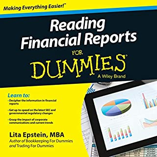 Reading Financial Reports for Dummies, 3rd Edition audiobook cover art