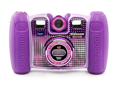 VTech Kidizoom Twist Connect - Cámara de Fotos, Color Morado