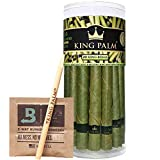 Convenient   Can't roll? No problem. These come pre-rolled for your convenience. No need to split, lick, or roll ever again. Seriously, just pack and enjoy Organic   Made from natural leaf rolls that are individually hand picked and cleaned with puri...