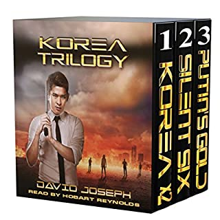 Korea Trilogy audiobook cover art