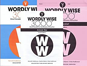 Wordly Wise 3000 Fourth Edition Student Edition + Test Booklet + Answer Key Set Grade 7