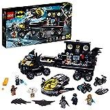 LEGO76160SuperHeroesBatbaseMóvilJuguetedeConstrucciónconBatcueva,CamiónconAviónJet,Quad,MotoyMotoAcuática
