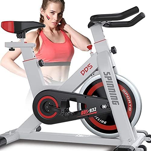 Pérdida de peso para el hogar Ejercicio Ejercicio Ejercicio Pedal Bicicleta Interior Fitness Equipo Inicio Oficina Ejercicio Bicicleta, con resistencia a la velocidad, Perder peso Equipo de aptitud