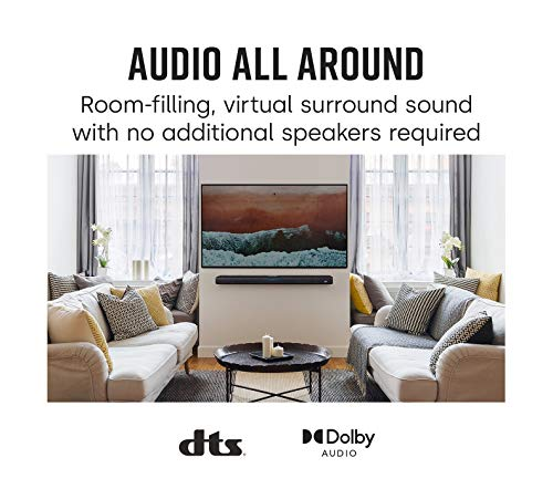 Product Image 4: Polk Audio React Sound Bar, Dolby & DTS Virtual Surround Sound, Next Gen Alexa Voice Engine with Calling and Messaging Built-in — A Certified for Humans Device