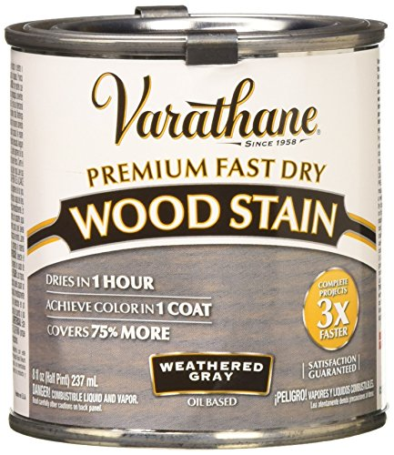 Rust-Oleum 269398 Wood Stain, Weathered Gray