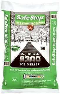 North American Salt 53820 Magnesium Chloride Ice Melter, 20-Pound