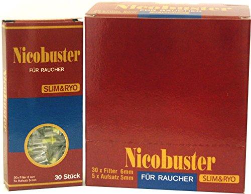 Nicobuster Zigaretenspitzen Slim Spitze 6 mm