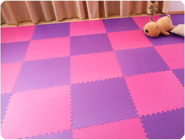 WEIMEI Tapis Enfant Tapis Puzzle en Mousse Bébé Tapis D'activité voiturereaux Tapis De Jeu en Mousse étanche épais Yoga Couleuré, 60x60cm, 5 Styles (Couleur   D, Taille   24pieces)