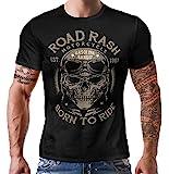 Gasoline Bandit Original Biker Racer Camiseta: Road Rash-XL