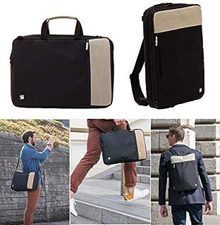 4a0e1bbbae Sac ordinateur homme femme design, 4en1 sacoche sac à dos ville extensible  léger convertible,