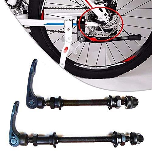 Bike Axle Blocages Rapides Avant Arrière Vélo Essieu De Moyeu De Roue Axe Traversant Adaptateur Pièces Vélo pour Vélo De Route VTT