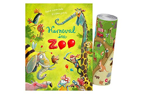 Buchspielbox Carnaval en zoo: Banda 2 Ignaz Igel, Band 2 + Pster de Zoo