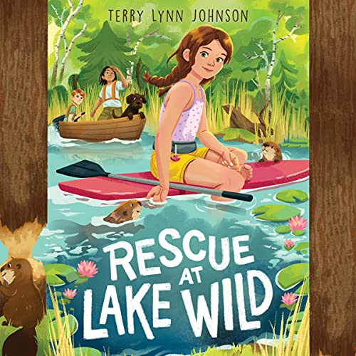 Rescue at Lake Wild Audiobook By Terry Lynn Johnson cover art