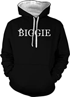 Biggie Adult Two Tone Hoodie Sweatshirt