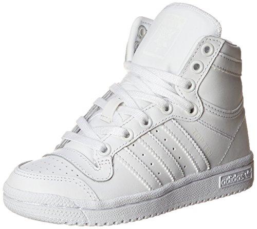 adidas OriginalsTOP TEN HI C - K - Top Ten Hi C - K niños unisex , Blanco (Blanco/blanco/blanco), 2.5 Little Kid