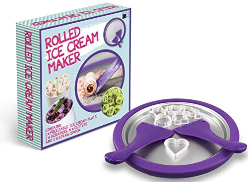 Ice Cream Roll Maker - Make Amazing Ice Cream Desserts at Home in an Instant - Food Grade DIY Rolled Ice Cream, Frozen Yogurt Grill