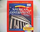 Prentice Hall Magruder's American Government Teacher's Edition Isbn 9780131335783 0131335782 2006