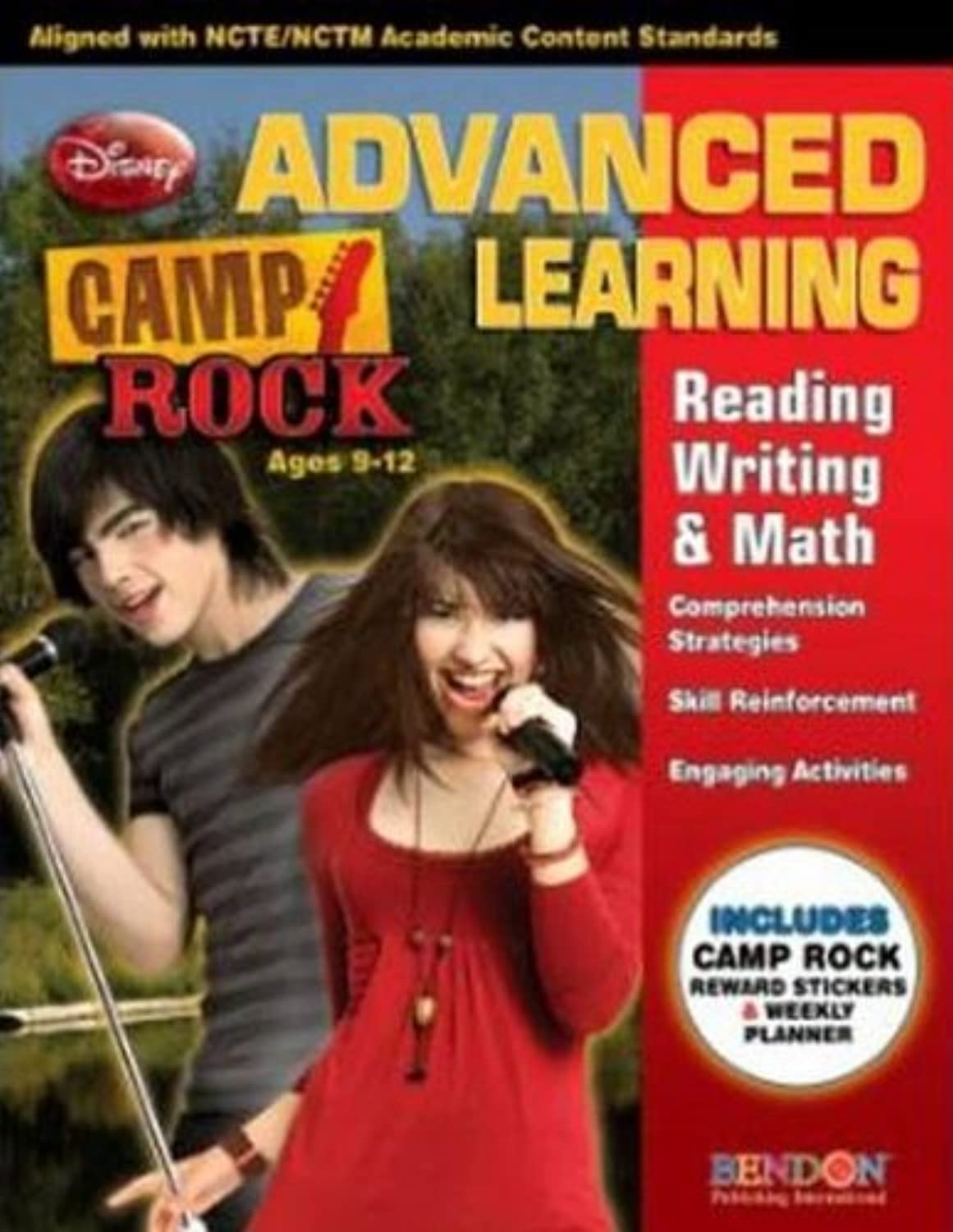 Bulk Buys Camp Rock Advanced Learning Reading, Writing & Mat - Case of 96 by DDI