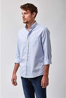 Camisa Chambray - Azul