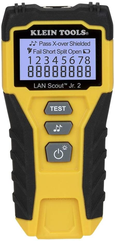 Cable Tester LAN Scout Jr. Max 57% OFF for 2 5e Ethernet CAT Cash special price