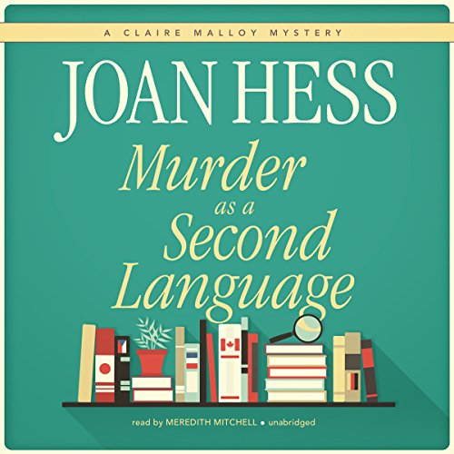 Murder as a Second Language audiobook cover art