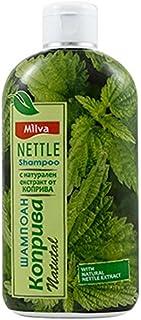 Champú de ortiga - Ayuda a regular la producción de sebo reduce la caspa y alivia la irritación del cuero cabelludo - par...