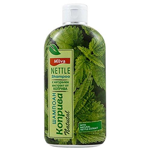 Brennnessel-Shampoo–hilft dabei die Talgproduktion zu regulieren, reduziert Schuppen und lindert Kopfhautirritationen –für kräftiges, gesundes Haar, 200ml