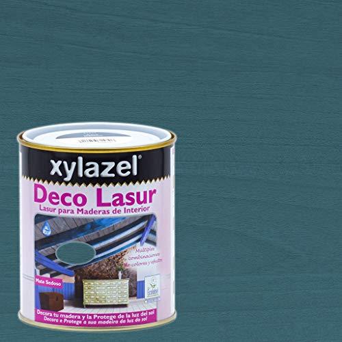 Xylazel - Protección madera deco lasur 750ml provenzal azul