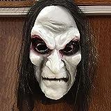 WYYUE Máscara De Halloween, Máscaras De Brujas Viejas y Aterradoras, Accesorios De Máscara De Zombi,...