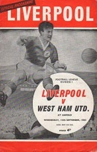 Liverpool Vs West Ham 65/66 Seizoen
