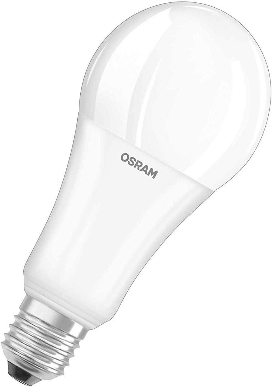 Osram Star Bombilla LED, E27, 20 watts, Blanco, Paquete de 6