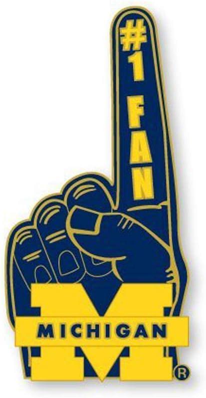 NCAA Michigan Wolverines Seasonal Luxury Wrap Introduction #1 Fan Pin
