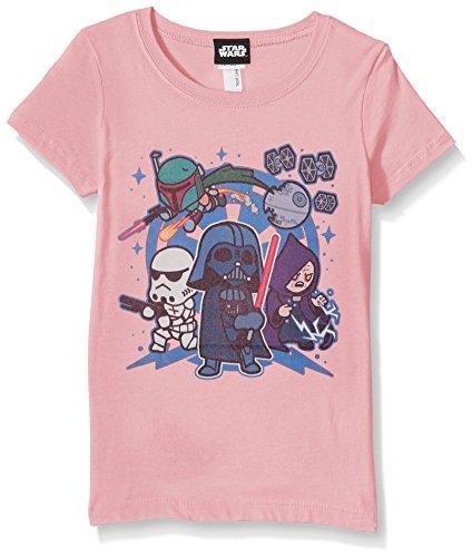 Star Wars Girls' Big, Pink // Team Vader, medium