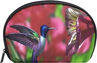 Cosmetic Bag Hummingbird Funny Girls Makeup Organizer Box Lazy Toiletry Case
