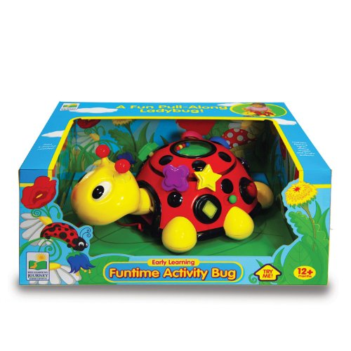 The Learning Journey Early Learning - Funtime Activity Ladybug - Baby & Toddler Toys & Gifts for Boys & Girls Ages 12 months and Up - Award-Winning Toy