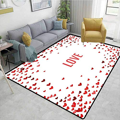 Learn More About Bigdatastore Love Animals Door Mats Outdoors, Romance Theme Illustration Valentines...