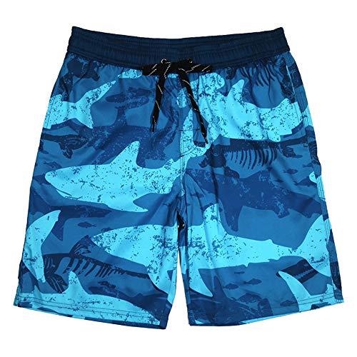 zx-shop BañAdores De Hombre Pantalones Cortos Pantalones Cortos De Camuflaje De TiburóN De Secado RáPido Corto