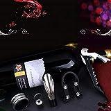 Red wine opener set of five pieces