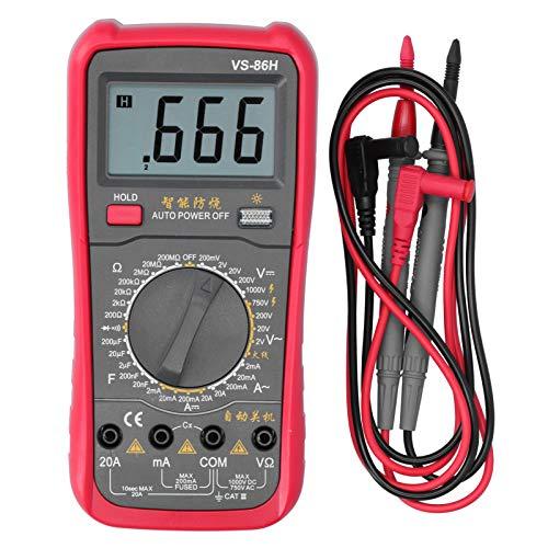 YUN VS-86H Multímetro Digital CA CA CC De Voltaje Frecuencia De Temperatura De La Temperatura De La Temperatura En Vivo Medidor
