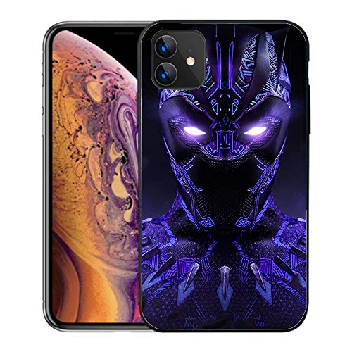 iPhone 11 Case 6.1',Comics Case Cover for iPhone 11 (Black-Panther-3)